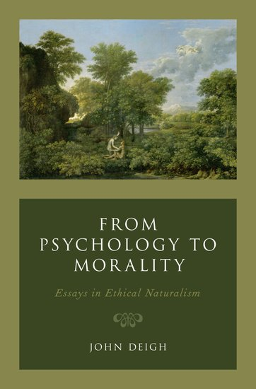 from psychology to morality   john deigh   oxford university press