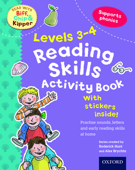 Oxford Reading Tree Read With Biff, Chip, and Kipper: Levels 3-4. Reading Skills Activity Book
