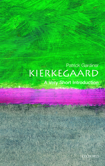 A Very Short Introduction to Kierkegaard book cover