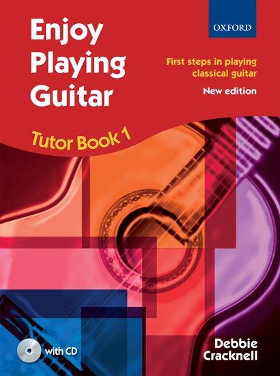 Food Book Cover Guitar : Enjoy playing guitar tutor book cd debbie cracknell