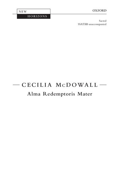 Alma redemptoris Mater image