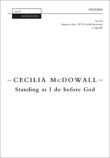 Standing as I do before God image