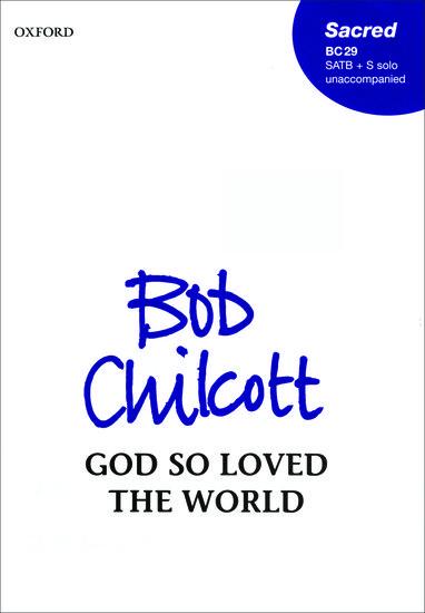 God so loved the world image
