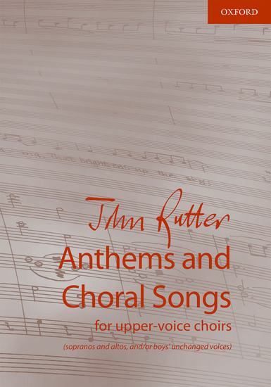 Anthem and Choral songs for upper-voice choirs image