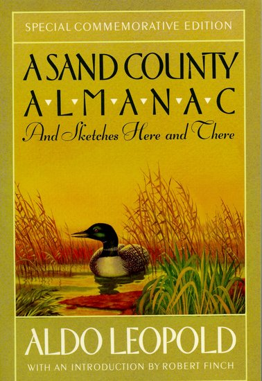 """a review of a sand country almanac by aldo leopold For lack of a better phrase, this book pretty much """"fell into my lap"""" during an environmental education conference having attended a panel about leopold, i discussed with the instructor how i had not yet acquired a copy to read he insisted i take his, and i did so graciously."""