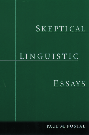 linguistics short essay Some notes on language ronald kephart university of north florida what is language as north americans living in the early 21st century, we have been educated about language from the time we entered school.