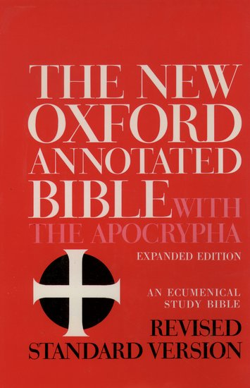 The New Oxford Annotated Bible With The Apocrypha Revised