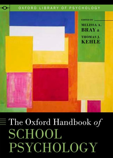 The Oxford Handbook Of School Psychology Hardcover Melissa A