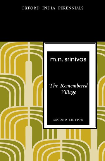 Book Review: The Remembered Village by M N  Srinivas | LSE