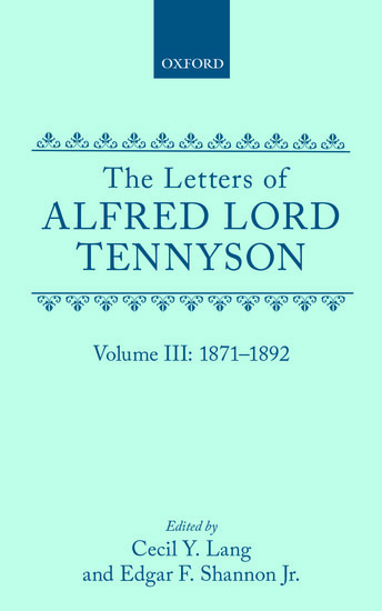 alfred lord tennyson bio Alfred, lord tennyson was regarded by many in his generation as the greatest  poet of victorian england a superb craftsman in verse, he wrote poetry that.