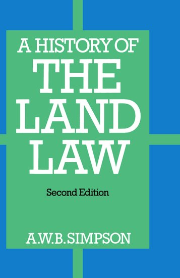 A History of the Land Law