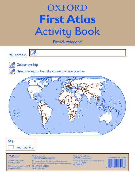 Oxford First Atlas Activity Book