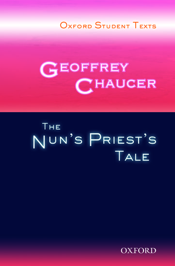 english literature the nuns priests tale by geoffrey chaucer Canterbury tales by geoffrey chaucer  introduction to medieval literature: old english,  the nun's priest's tale: the beast fable of the canterbury tales.
