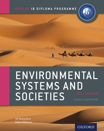 environmental systems societies extended essay This comprehensive 2nd edition textbook covers all eight topics from the 2015 ess course, along with advice on internal assessment, the extended essay, and links to theory of knowledge it will help students to prepare thoroughly and methodically for their examinations written by experienced ib.