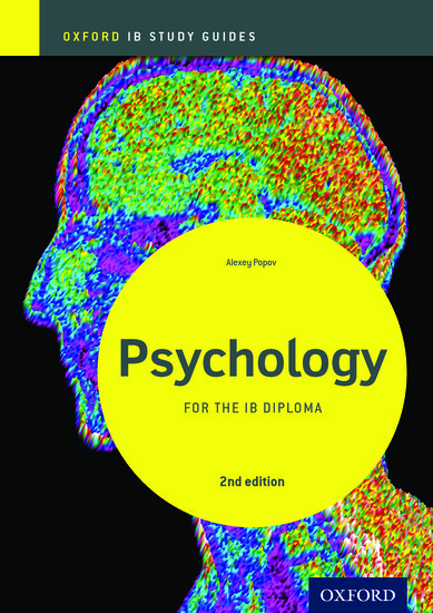 IB Psychology Study Guide: Oxford IB Diploma Programme
