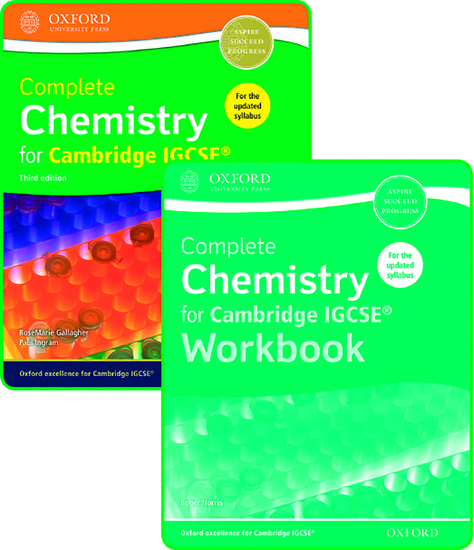 Complete chemistry for cambridge igcse student book and workbook complete chemistry for cambridge igcse student book and workbook pack rosemarie gallagher paul ingram roger norris oxford university press fandeluxe Gallery