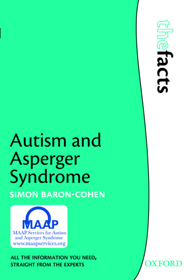 Aspergers dating statistics and facts