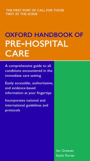Kết quả hình ảnh cho Oxford Handbook of Prehospital Care