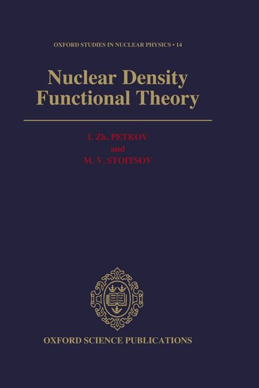 Nuclear Density Functional Theory
