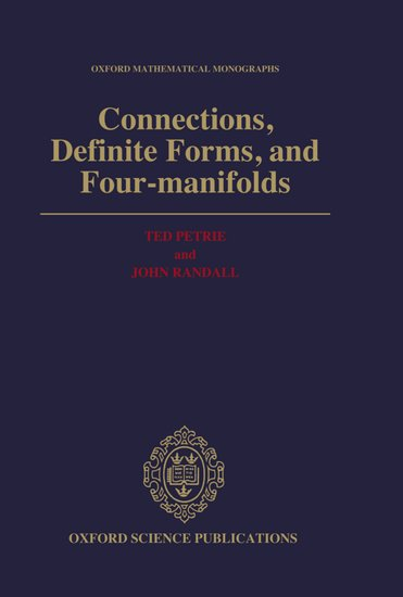 Connections, definite forms, and four-manifolds