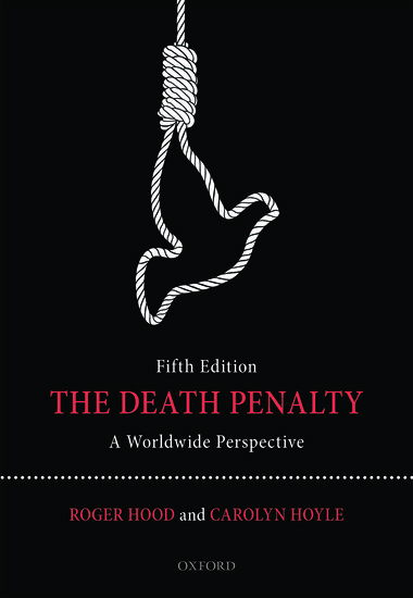 death penalty scholarly articles
