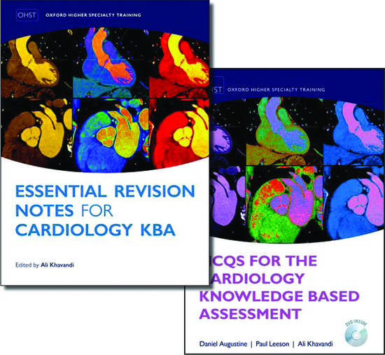 MCQs for the Cardiology Knowledge Based Assessment and Essential Revision  Notes for the Cardiology KBA Pack