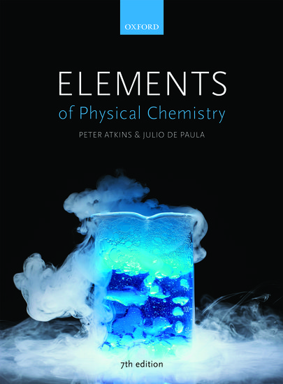 Elements Of Physical Chemistry Paperback Peter Atkins Julio De