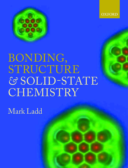 Ladd: Symmetry of Crystals and Molecules: Cover image