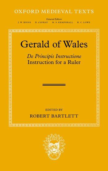 Gerald Of Wales Robert Bartlett Oxford University Press