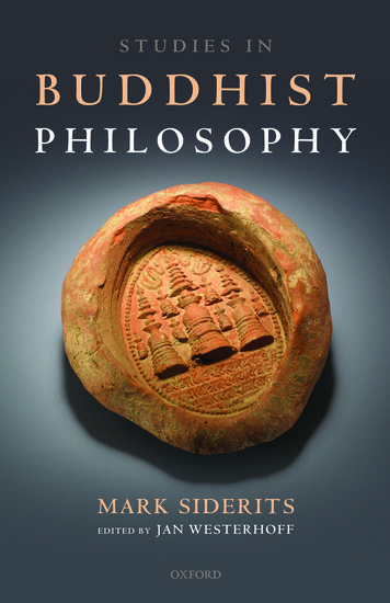 studies in buddhist philosophy - mark siderits
