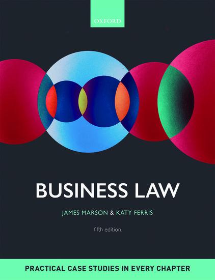 Business law james marson katy ferris oxford university press fandeluxe Choice Image