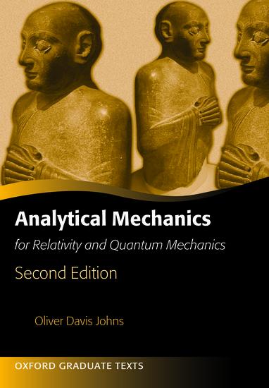 Analytical Mechanics for Relativity and Quantum Mechanics