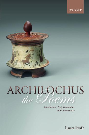 Archilochus: The Poems