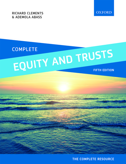 Complete Equity and Trusts