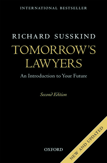 Tomorrows lawyers richard susskind oxford university press fandeluxe Image collections