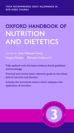 Oxford Handbook of Nutrition and