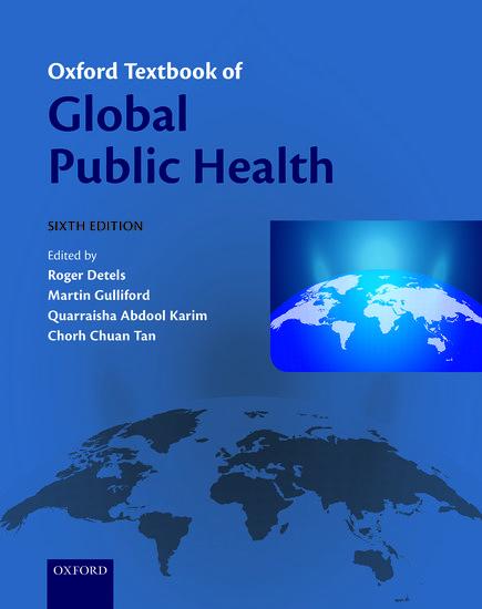 foto de Oxford Textbook of Global Public Health - Paperback - Roger Detels ...