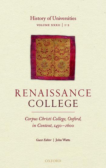 History of Universities:
