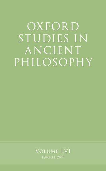 Oxford Studies in Ancient Philosophy, Volume 56