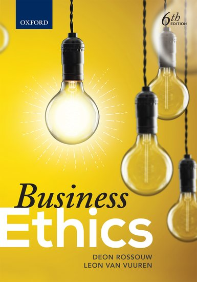 business ethics by joseph w weiss 3rd edition