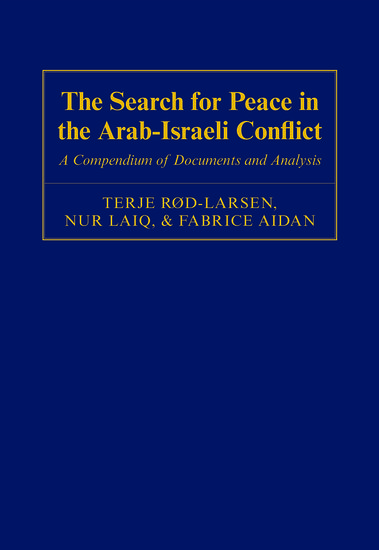an introduction to the analysis of the arab israeli conflict Analysis of the interplay between inter-arab politics and the conflict with israel —the  the decline of the arab-israeli conflict addresses the changing political  behavior of  1 introduction: explaining regional arab politics pp.