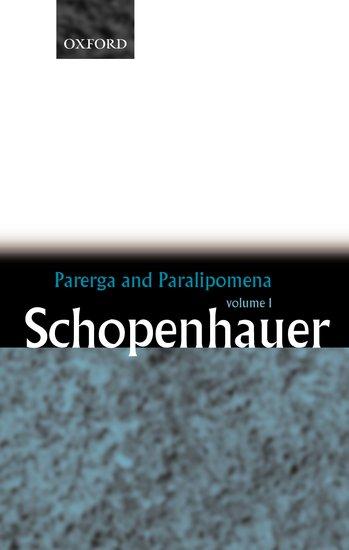 parerga and paralipomena online dating
