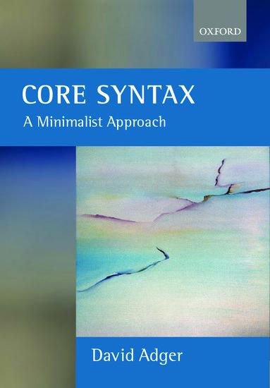 David adger core syntax