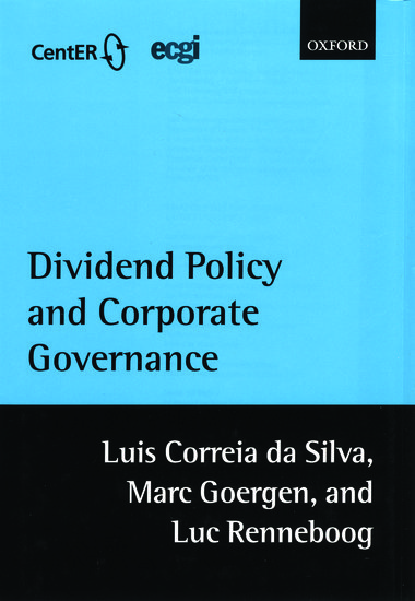 Dividend Policy and Corporate Governance - Luis Correia da
