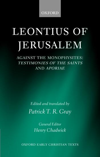 Image result for leontius of jerusalem