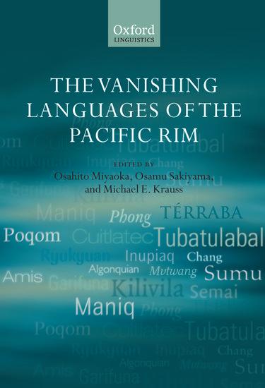 The Oxford Handbook of the Economics of the Pacific Rim