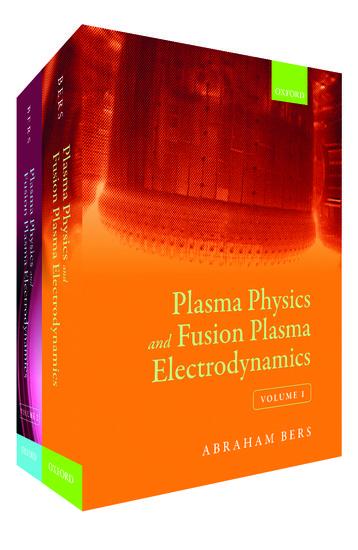 FUSION PLASMA PHYSICS EPUB