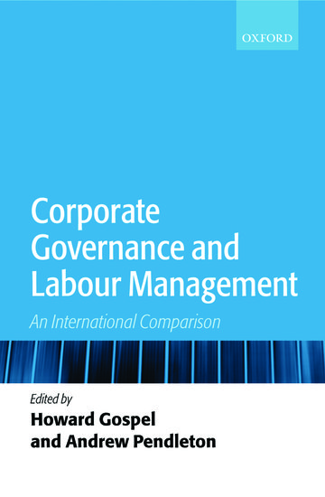 corporate governance literature review
