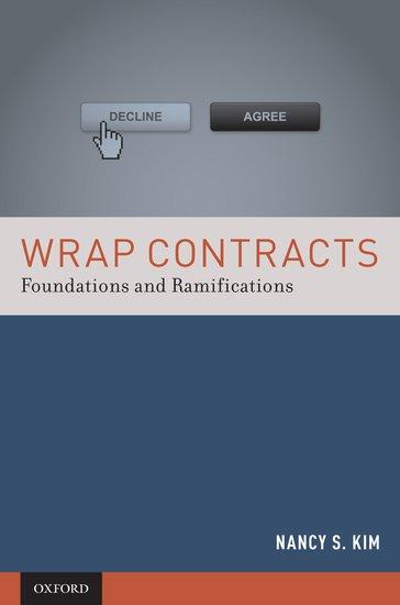 Wrap Contracts Nancy S Kim Oxford University Press