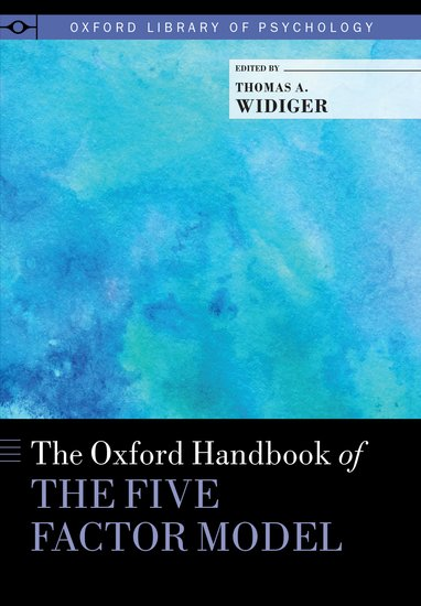 The Oxford Handbook Of The Five Factor Model Thomas A Widiger